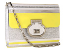 Rafe New York - Melissa Clutch/Crossbody (Lemon/Silver)