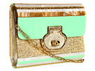 Rafe New York - Melissa Clutch/Crossbody (Mint/Gold)