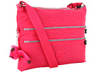 Kipling Alvar Crossbody Bag (Vibrant Pink)