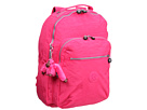 Kipling Seoul Backpack with Laptop Protection (Vibrant Pink)