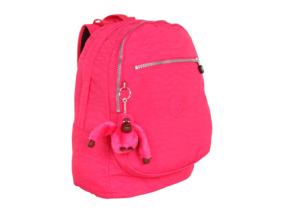 Kipling - Challenger II Backpack (Vibrant Pink) Backpack Bags