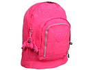 Kipling - Hiker Large Expandable Backpack (Vibrant Pink) - Bags and Luggage