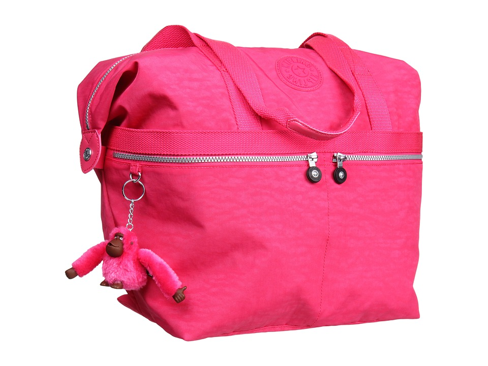 Kipling - Matty Large Tote (Vibrant Pink) Tote Handbags