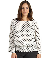 MICHAEL Michael Kors Plus - Plus Size Pan Dot D-Ring Kimono Top