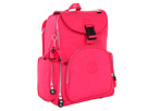 Kipling Alcatraz II Backpack With Laptop Protection (Vibrent Pink)