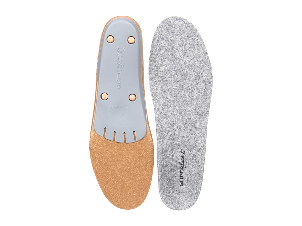 Superfeet Merino Grey Grey Insoles Accessories Shoes