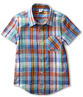 Appaman Kids - Tilden Button Up S/S Shirt (Toddler/Little Kids/Big Kids)
