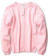 Appaman Kids - Pointelle Contrast Chelsea Cardigan (Toddler/Little Kids/Big Kids)