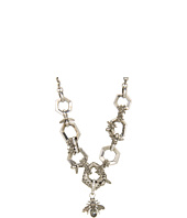 Alexander McQueen - Hexagon & Bee Skull Necklace