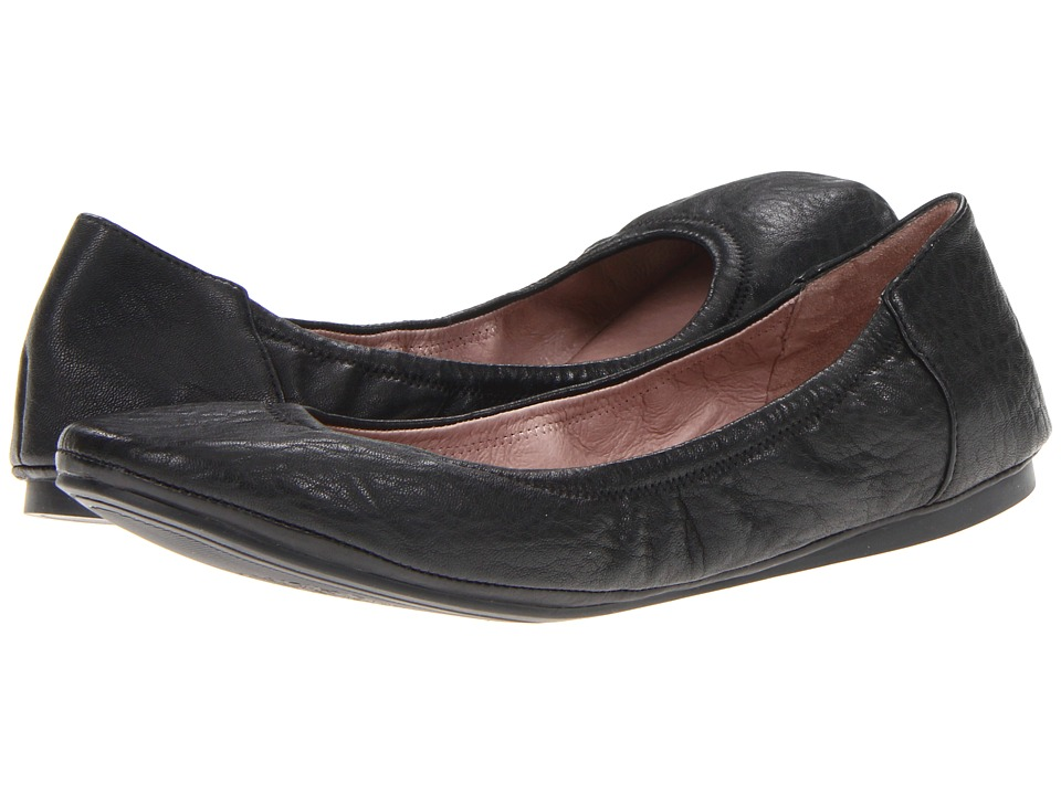 Vince Camuto - Ellen (Black Lamb) Womens Flat Shoes