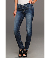 Big Star - Brigitte Mid Rise Slim Straight in Lunar