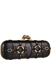 Alexander McQueen - Twin Skull Long Box Clutch