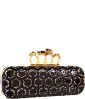 Alexander McQueen - Knuckle Long Box Clutch