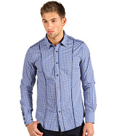 Marc Ecko Cut & Sew - L/S Piped Gingham Shirt