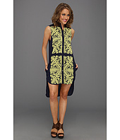 Mara Hoffman - Applique Shirt Dress