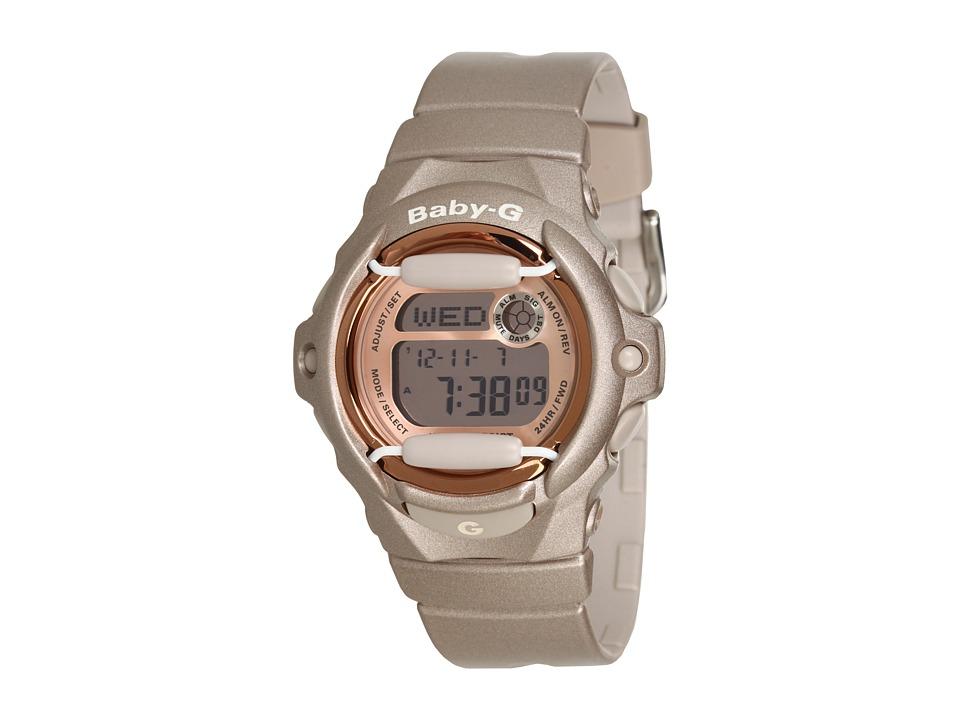 G-Shock - Baby-G BG169 Pink Champaign (Grey/Pink) Sport Watches