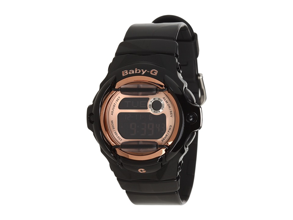 G Shock Baby G BG169 Pink Champaign Black/Pink Sport Watches