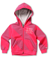 Nike Kids - YA76 Striped Full Zip Hoody (Toddler)