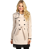 Ivanka Trump - Double Eyelet Hem Trench