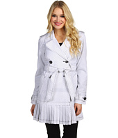 Ivanka Trump - Pleated Skirt Trench Coat