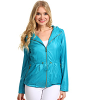 Ivanka Trump - Short Coated Poly Anorak