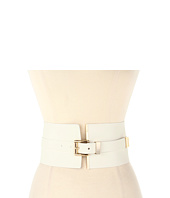 MICHAEL Michael Kors - Michael Kors 105MM Corset Belt w/ Metal Tip and Roller