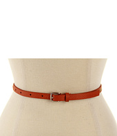 MICHAEL Michael Kors - Michael Kors 12MM Skinny Zipper Panel Belt