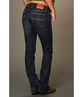 Lucky Brand - Lola Straight in No Namer Medium Dark Wash