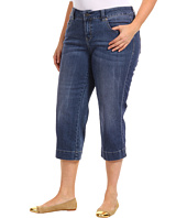 Jag Jeans Plus Size - Plus Size Canyon Crop in Porpoise