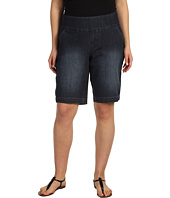 Jag Jeans Plus Size - Plus Size Louie Pull-On Bermuda Short in Atlantic Blue