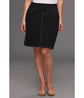 Jag Jeans Plus Size - Plus Size Maddock Pull-on Denim Skirt