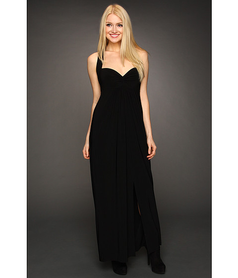 KAMALIKULTURE - Halter Empire Gown (Black) - Apparel