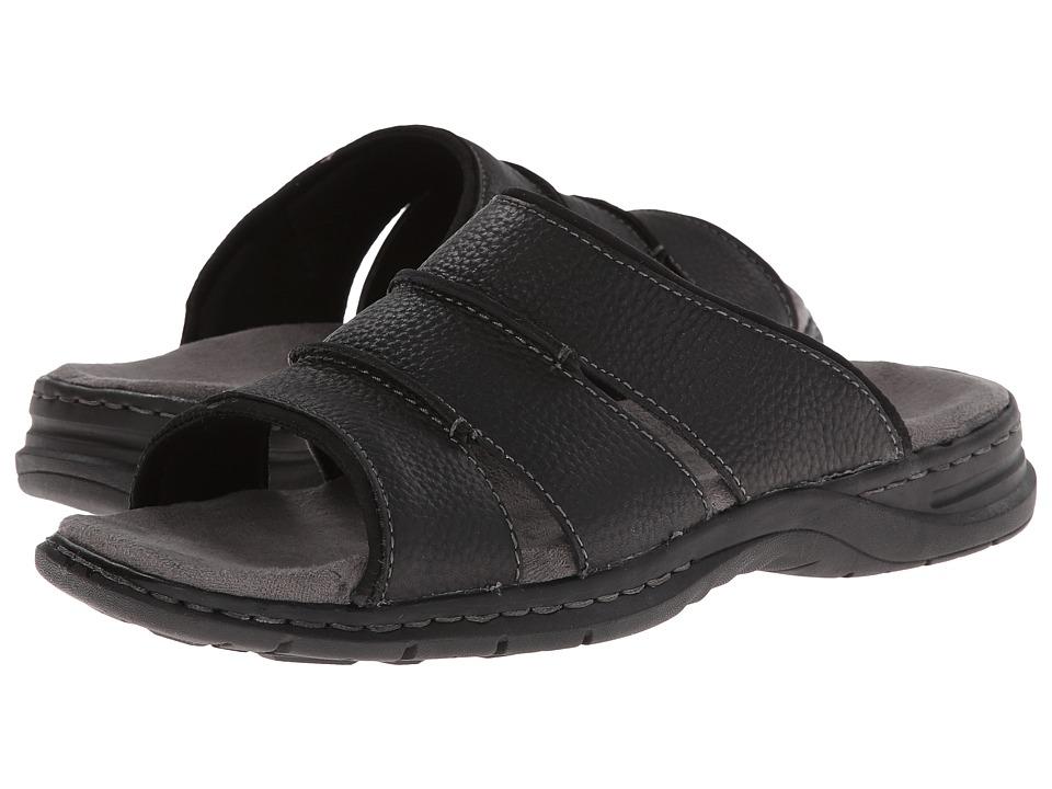 Dr. Scholls - Gordon (Black) Mens Slide Shoes