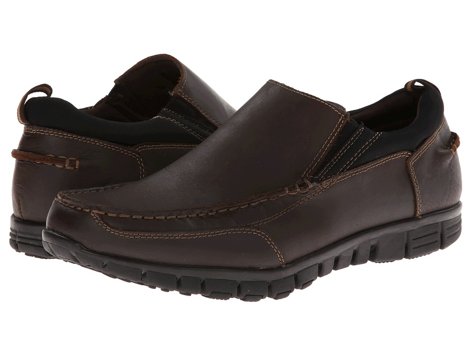 Dr. Scholls Slide Brown Mens Slip on Shoes