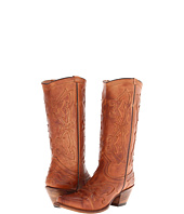 Stetson - Antiqued Tonal Overlay Boot Snip Toe