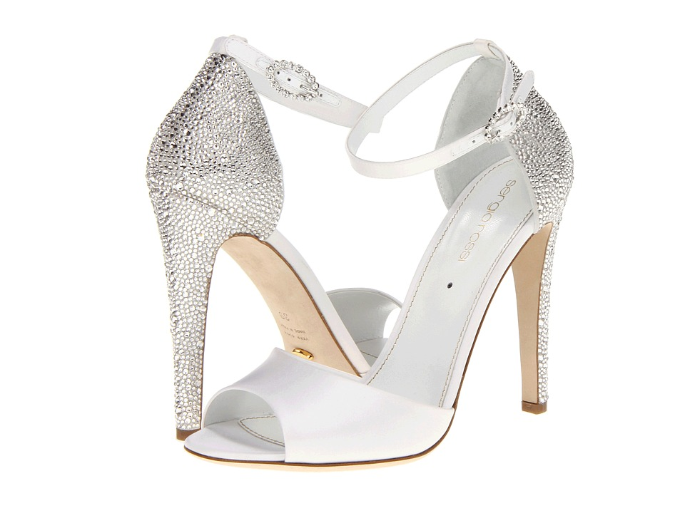 Sergio Rossi Bridal Sandal (Bianco) Women's Bridal Shoes