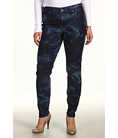 DKNY Jeans - Plus Size Tied Up Tie-Dye Jegging