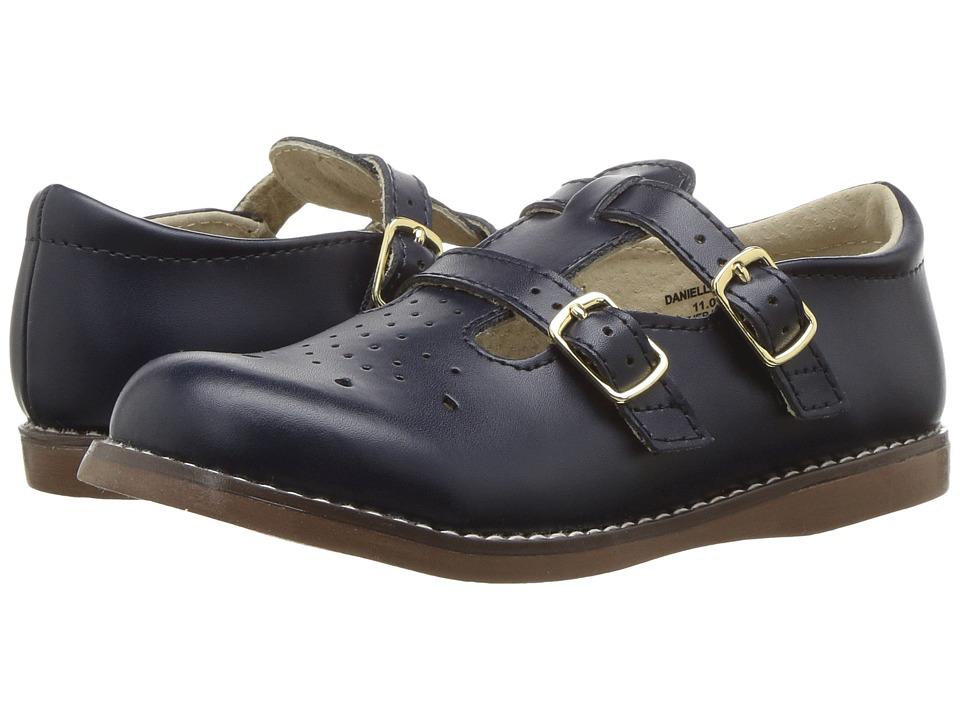FootMates Danielle 3 Infant/Toddler/Little Kid Navy Girls Shoes