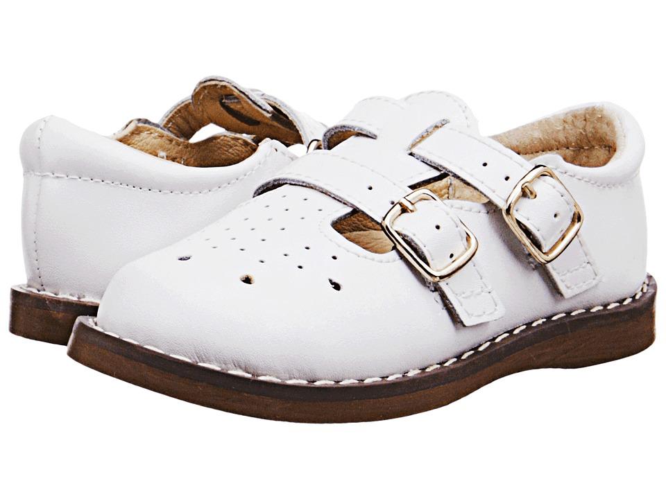 FootMates Danielle 3 Infant/Toddler/Little Kid White Girls Shoes
