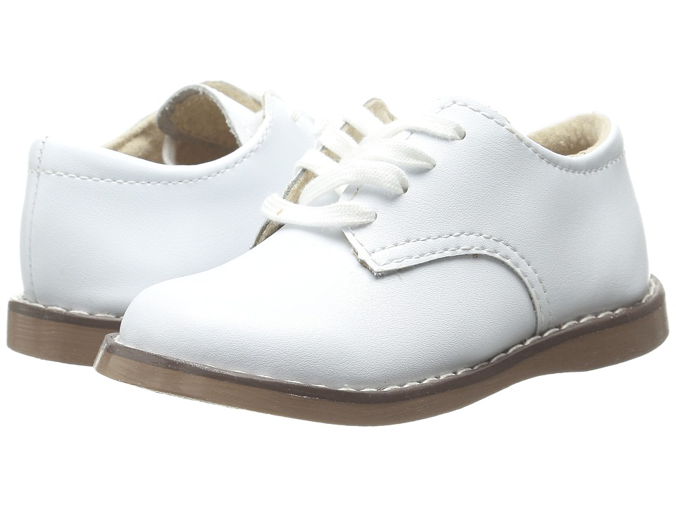 FootMates - Willy 3 (Infant/Toddler/Little Kid) (White) Boys Shoes