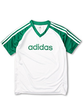 adidas Kids - Core 3-Stripe Tee (Little Kids/Big Kids)