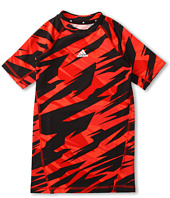 adidas Kids - Impact Camo Compression Top (Little Kids/Big Kids)