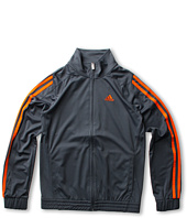 adidas Kids - Loose Core Full Zip Jacket (Little Kids/Big Kids)