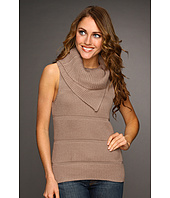Kenneth Cole New York - Tuck Rib Double Layer Cowl Neck