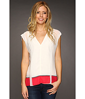 Kenneth Cole New York - Colorblocked Top