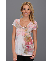 Calvin Klein Jeans - Floral Gathered Shoulder Top