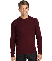 Original Penguin - Cable Front Crew Sweater