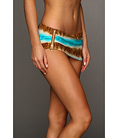 MICHAEL Michael Kors - Tribal Stripe Skirted Hipster Bottom