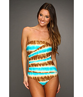 MICHAEL Michael Kors - Tribal Stripe Shirred Maillot