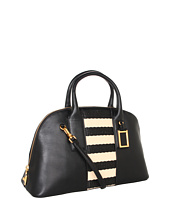 Marc by Marc Jacobs - Show Off Stripey Straw Satchel